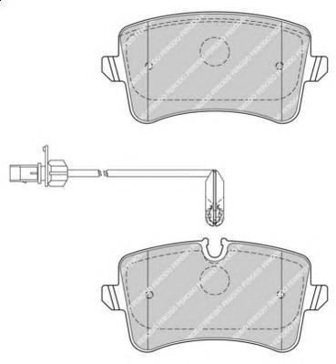 Ferodo Колодки тормозные дисковые Premier. FDB4410FDB4410