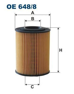 Фильтр масляный Filtron OE6488OE6488