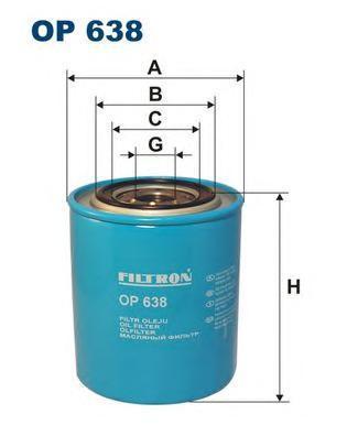 Фильтр масляный Filtron OP638OP638