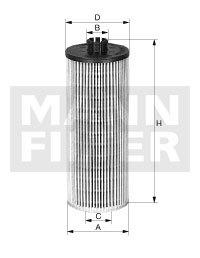 Фильтр масляный Mann-Filter HU6019ZHU6019Z