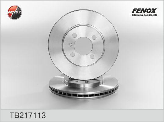 Диск тормозной Fenox TB217113 комплект 2 штTB217113