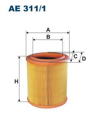 Фильтр воздушный Filtron AE3111AE3111