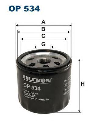 Фильтр масляный Filtron OP534OP534