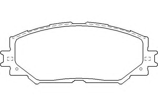 Колодки тормозные дисковые, 4 шт Textar 24336012433601