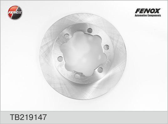 Диск тормозной Fenox TB219147TB219147