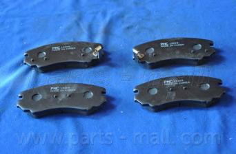 Колодки тормозные передние PMC PKA004PKA004