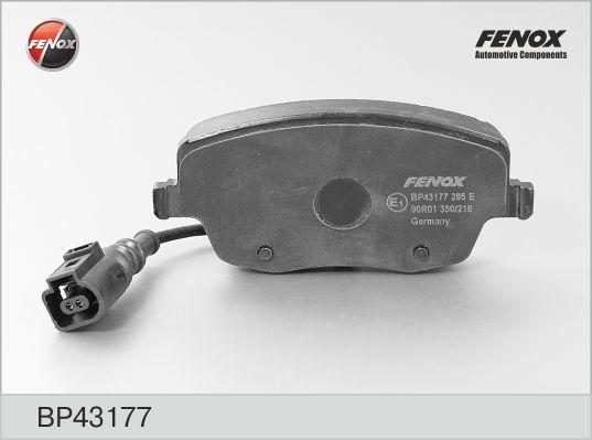Fenox Колодки тормозные дисковые. BP43177BP43177