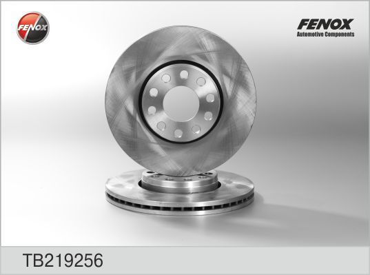 Диск тормозной Fenox TB219256TB219256