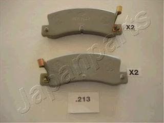 Колодки тормозные дисковые Japanparts PP213AFPP213AF