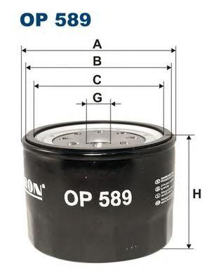 Фильтр масляный Filtron OP589OP589