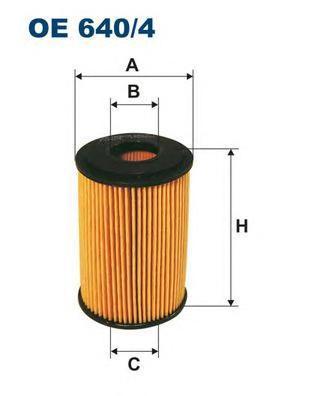 Фильтр масляный Filtron OE6404OE6404