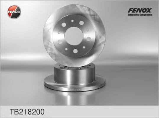 Диск тормозной Fenox TB218200 комплект 2 штTB218200