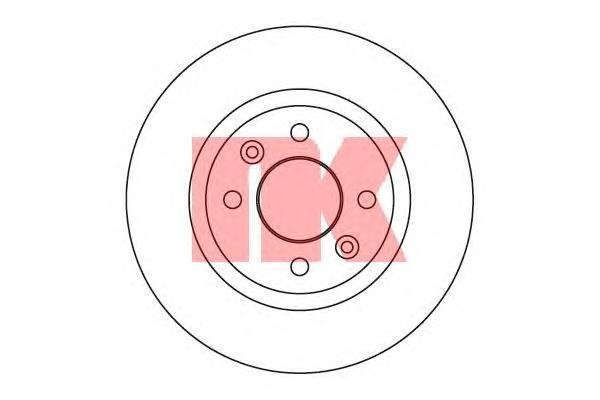 Диск тормозной NK 203910 комплект 2 шт203910