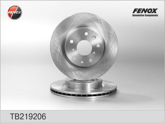 Диск тормозной Fenox TB219206 комплект 2 штTB219206