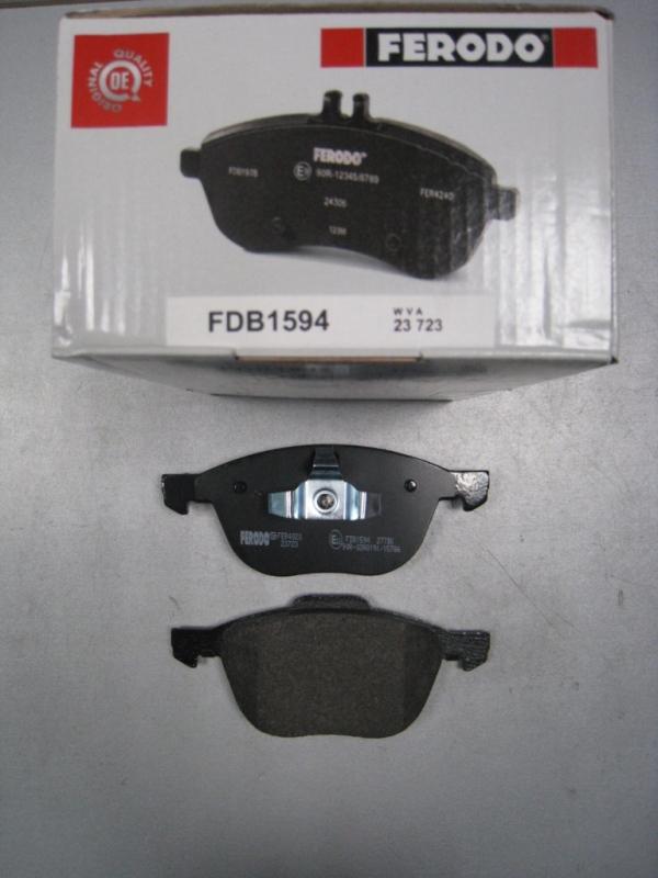 Колодки тормозные дисковые Premier Ferodo FDB1594FDB1594