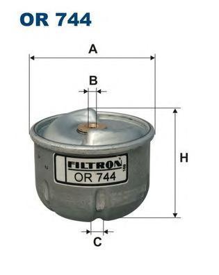 Фильтр масляный Filtron OR744OR744