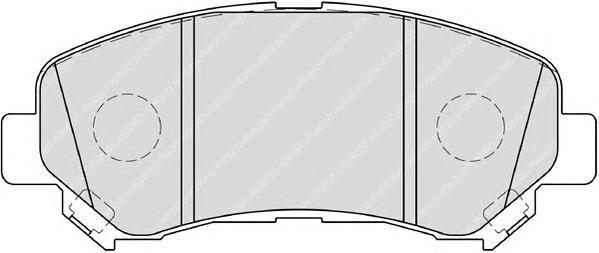 Колодки тормозные дисковые Premier Ferodo FDB4051FDB4051