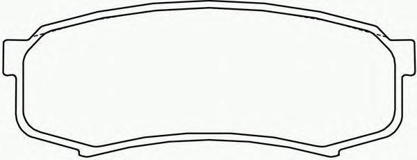 Колодки тормозные Textar 21947012194701