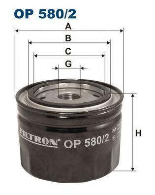 Фильтр масляный Filtron. OP5802OP5802