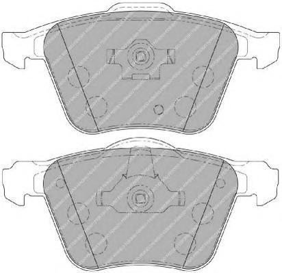 Колодки тормозные дисковые Premier Ferodo FDB1631FDB1631