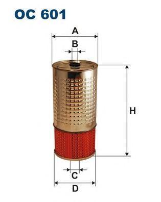 Фильтр масляный Filtron OC601OC601