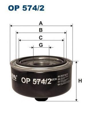 Фильтр масляный Filtron OP5742OP5742