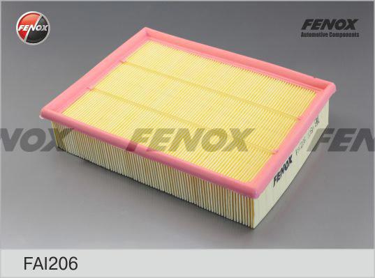 Воздушный фильтр Fenox FAI206FAI206