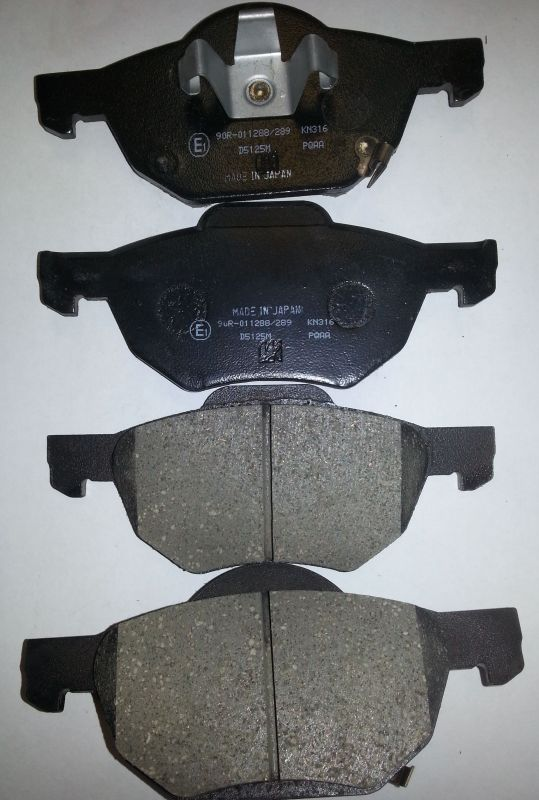 Колодки тормозные дисковые передние Kashiyama D5125MD5125M
