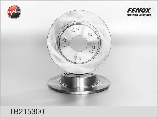 Диск тормозной Fenox TB215300 комплект 2 штTB215300