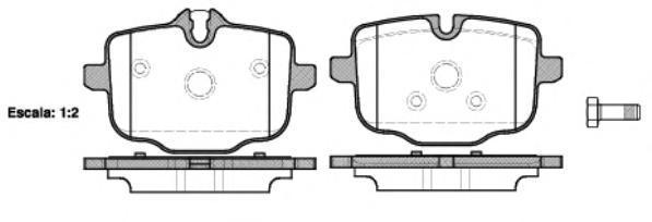 Колодки тормозные дисковые задние Road House 21433002143300