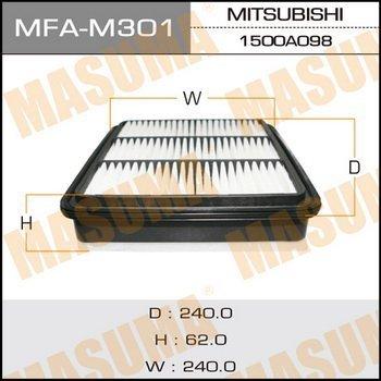 Фильтр воздушный Masuma MFAM301MFAM301