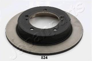 Диск тормозной Japanparts DI824 комплект 2 штDI824
