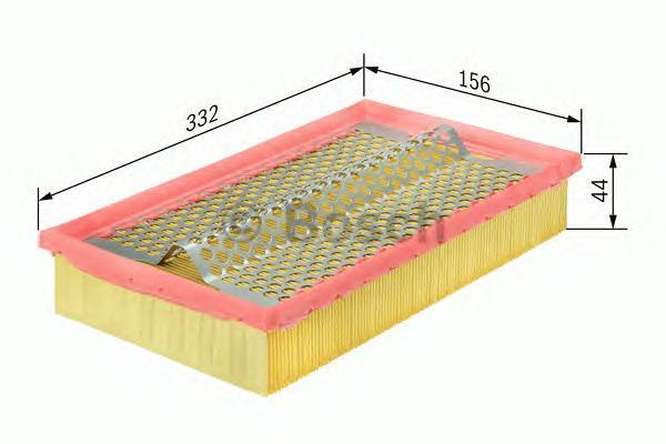 Фильтр воздушный Bosch 14574337001457433700