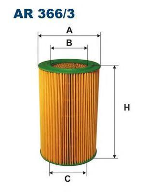 Фильтр воздушный Filtron AR3663AR3663
