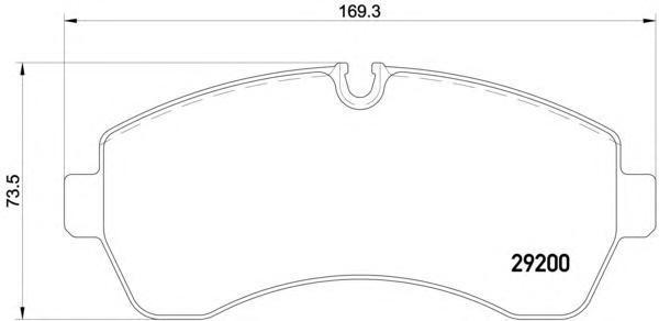 Колодки тормозные дисковые BEHR-HELLA, комплект. 8DB355005-5318DB355005-531