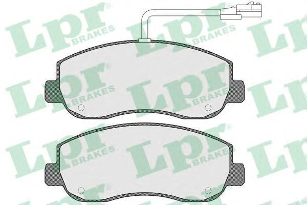 Колодки тормозные передние LPR / AP 05P157905P1579