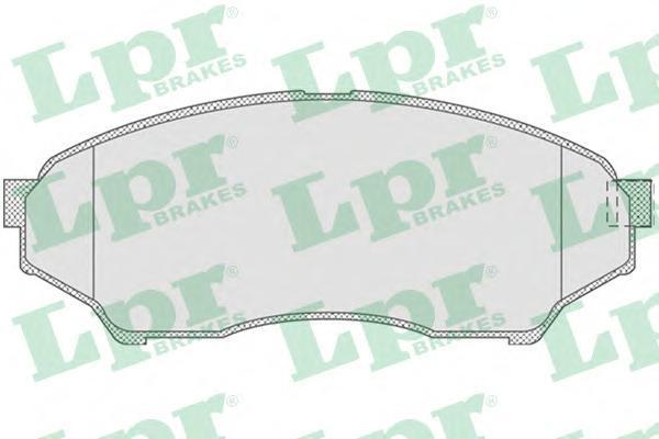 Колодки тормозные LPR / AP 05P81905P819