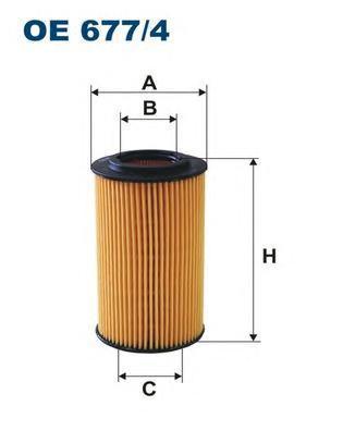 Фильтр масляный Filtron. OE6774OE6774