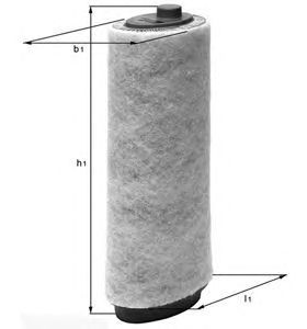 Фильтр воздушный Mahle/Knecht LX818LX818