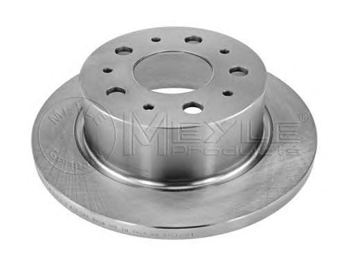 Meyle Диск тормозной задний 300мм Fiat Citroen Peugeot. 2155230028 meyle 1267150018 meyle амортизатор