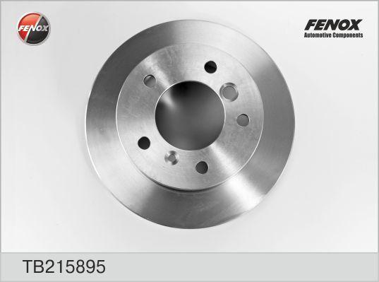 Диск тормозной Fenox TB215895TB215895