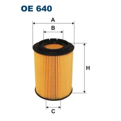 Фильтр масляный Filtron OE640OE640