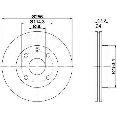 Диск тормозной Textar 92133600 комплект 2 шт92133600