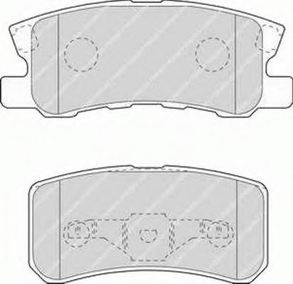 Колодки тормозные дисковые Premier Ferodo FDB1604FDB1604