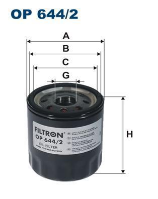 Фильтр масляный Filtron OP6442OP6442