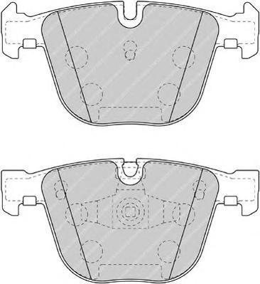 Колодки тормозные дисковые Premier Ferodo FDB4286FDB4286