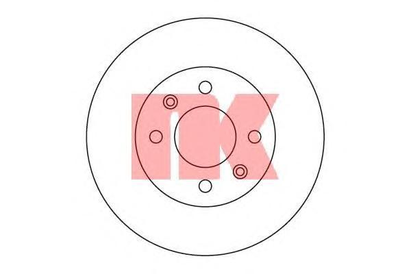 Диск тормозной NK 203419 комплект 2 шт203419