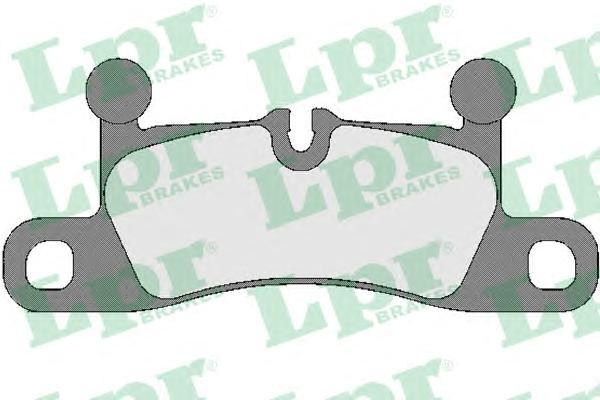 Колодки тормозные задние LPR / AP 05P175505P1755