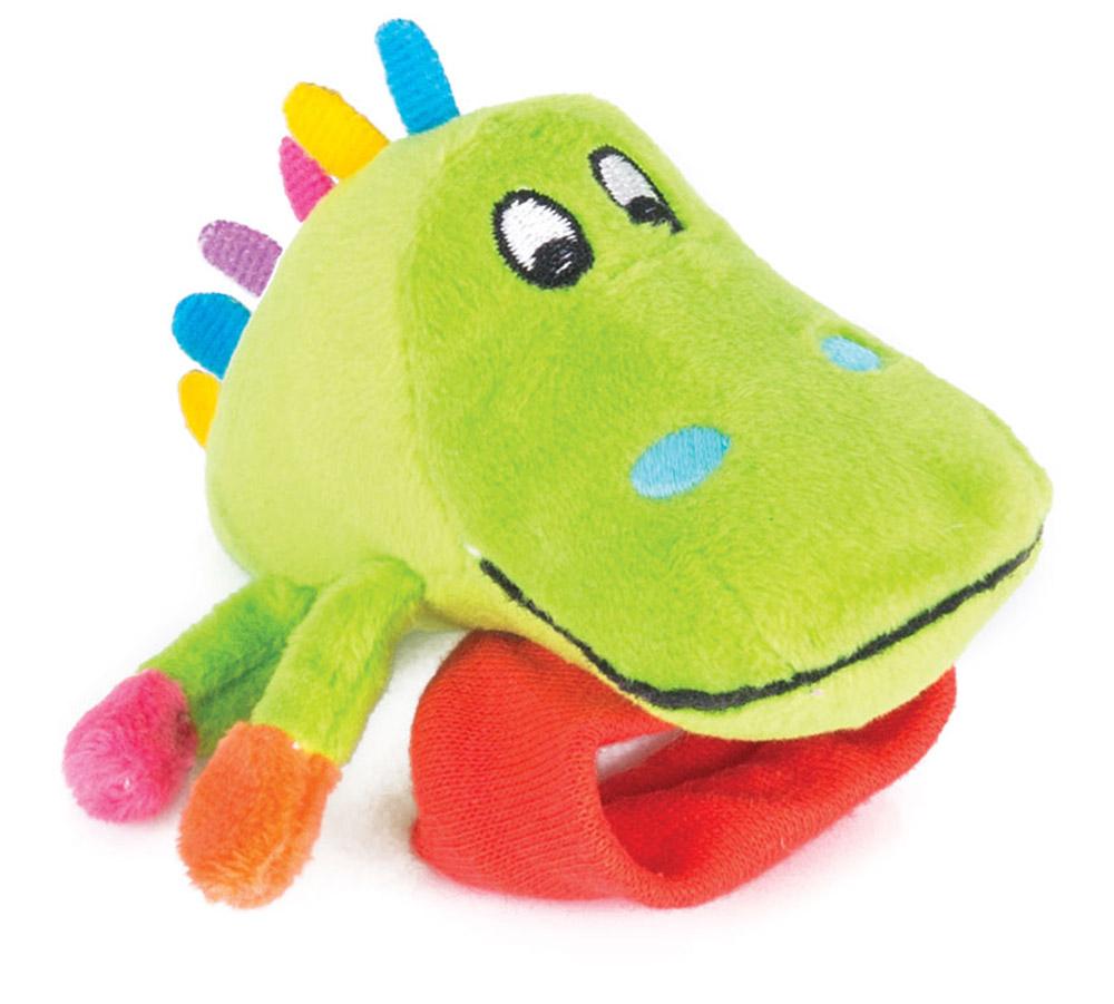 Happy Snail Игрушка-погремушка на руку Крокодил