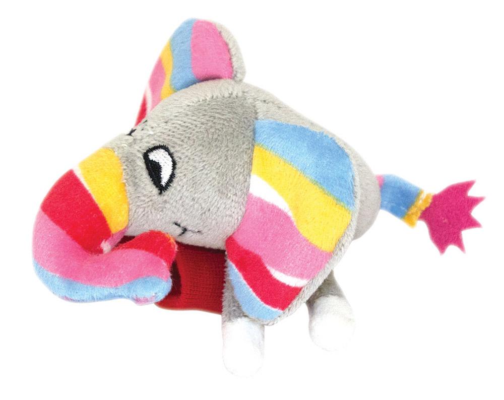 Happy Snail Игрушка-погремушка на руку Слоненок Джамбо мягкая игрушка happy snail крепитель слоник джамбо